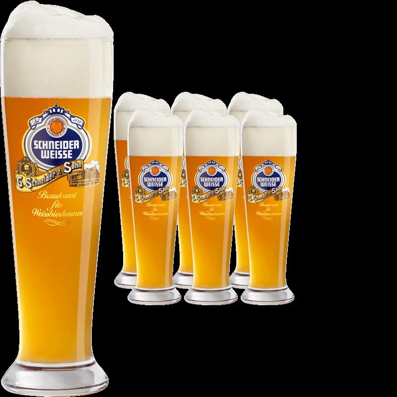 Schneider weisse glas stange der bierspezialist beer4you for Wei es glas