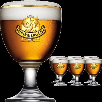 Grimbergen Glas Pokal 25cl Der Bierspezialist Beer4you