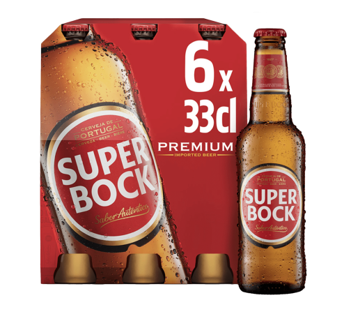 Super Bock Lager (33cl)