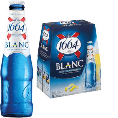 1664 Blanc (25cl) (beer4you.ch)