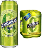 Cardinal Draft Lime Cut (50cl)