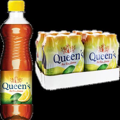 Queen's Ice Tea Lemon (50cl)