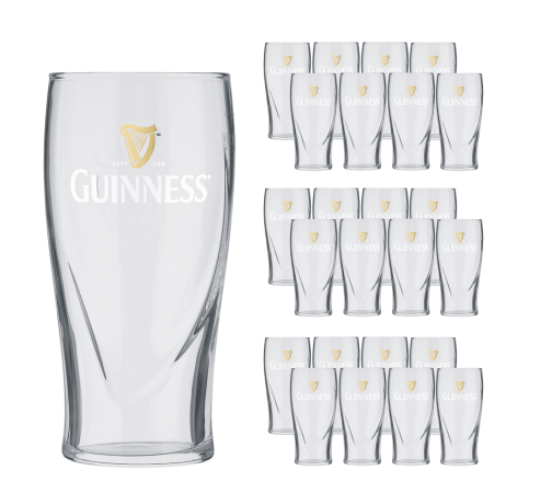 Guinness Pint Glas 24x50cl