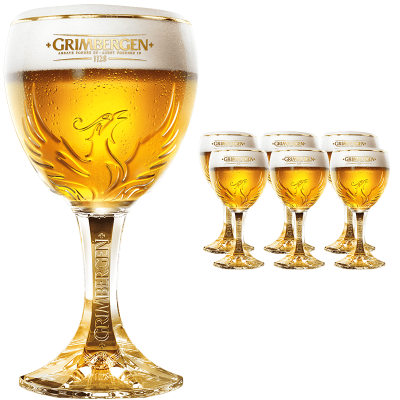 NEW VERRE Grimbergen phénix  GLAS  GLASS Collector