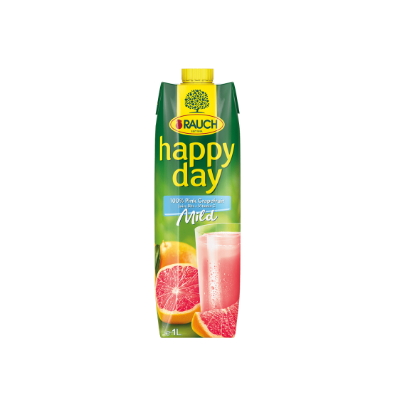 Rauch happy day 100% Pink Grapfruit  (100cl)