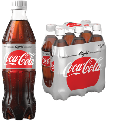 Coca-Cola Light (50cl) - Getränke-Onlineshop - beer4you