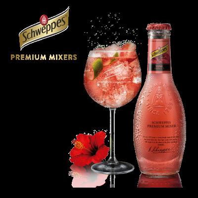 Schweppes Premium Hibiscus Tonic (20cl) - Der Getränkeshop - beer4you