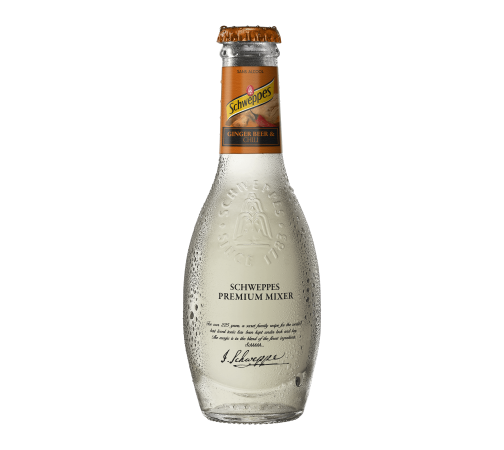 Schweppes Premium Mixers Ginger Beer & Chili (20cl)
