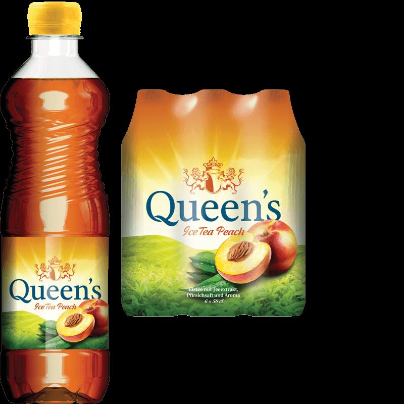 Queen's Ice Tea Peach (50cl)