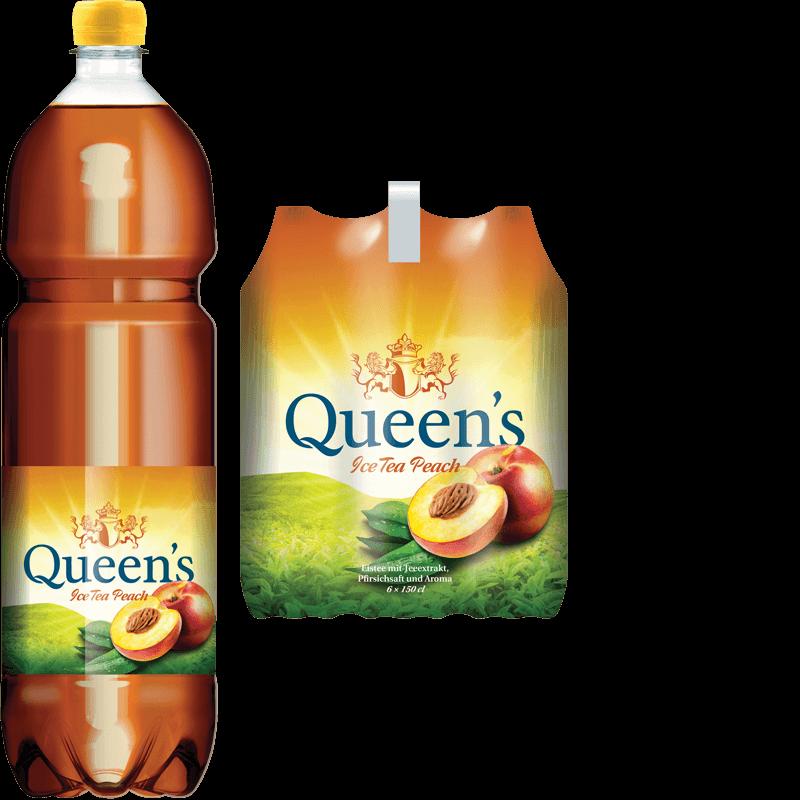 Queen's Ice Tea Peach (150cl)