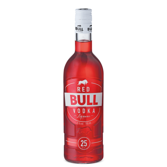 Bull Vodka Red (70cl)